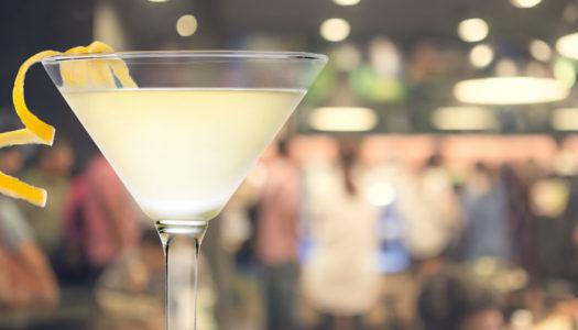 Double Barrelled Martini